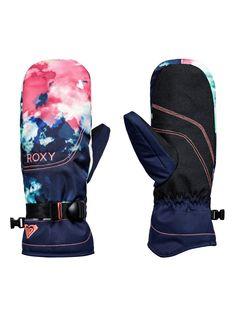 ROXY Jetty SE Snow Mittens, NEON GRAPEFRUIT_CLOUD NINE (nkn6) U-man 155 lei