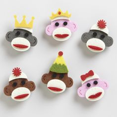 Where is Curious George? These sock monkeys have been popping up on the driver's side windows of vehicles driven by the Portland Police.