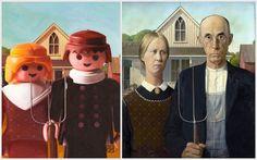 Astrid Köhler: Obras Maestras recreadas en Playmobil
