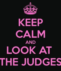 The hardest thing to do is smile at the people who are judging you