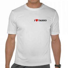 I Love Tahko t-paita