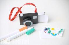 Fun Recycled Matchbox Camera