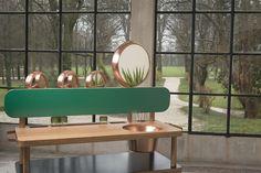 Ecstasy Dressing Table by Cristina Celestino for Attico Design Studio 07 Natural Wood Furniture, Trendy Furniture, Vintage Furniture, Folding Furniture, Furniture Design, Cristina Celestino, Attic Design, Milan Design, Top Interior Designers