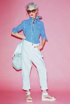 Linda+Rodin,+gingham+shirt1+copNOT SURE ABOUT THIS ,MAYBE SILLY AFTER ALL