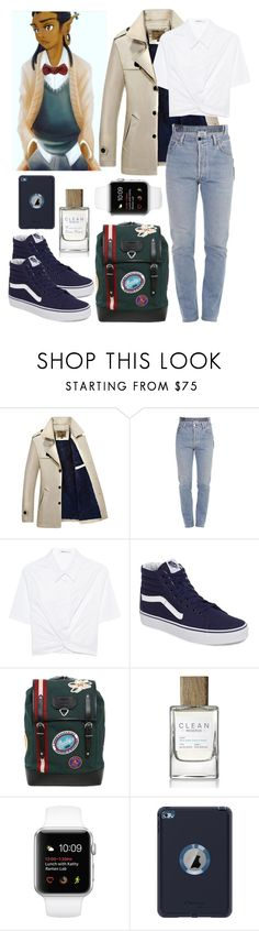 """""""Avery"""" by pegasusblack ❤ liked on Polyvore featuring Vetements, T By Alexander Wang, Vans, Bally and OtterBox"""