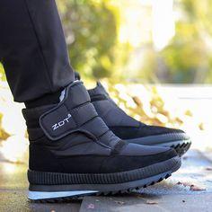 Cheap Snow Boots, Mens Snow Boots, Men Boots, Ankle Boots, Sneakers Mode, Casual Sneakers, Sneakers Fashion, White Shoes Men, Men's Wedding Shoes