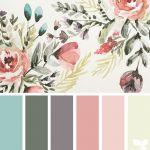 70 Best ideas for bedroom colors ideas grey design seeds Design Seeds, Colour Pallette, Color Combos, Spring Color Palette, Color Schemes Colour Palettes, Palette Art, Decoration Palette, Flowers Decoration, Decoration Table