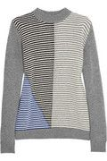 Marni Contrast-striped wool and cashmere-blend sweater