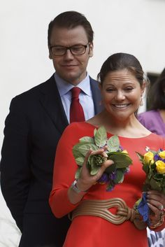 Princess Victoria - HRH Crown Princess Victoria Of Sweden And Prince Daniel On Germany Visit - Day 4