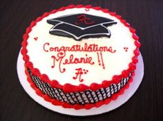 Graduation cake from Mary's Cakes and Pastries in Northport, AL