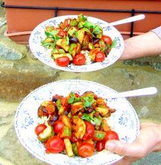 Savory summer veggies La Spinosa (recipe!)
