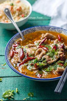 Shui Zhu Beef (Sichuan Boiled Beef)   China Sichuan Food