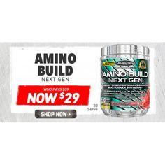 $29 (was $59) MUSCLETECH AMINO BUILD NEXT GEN 30SERVE @ Shotgun - Bargain Bro