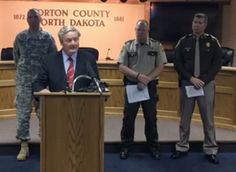 """BISMARCK, NORTH DAKOTA: Gov. Jack Dalrymple announced Thursday that the Morton County Sheriff's Department activates the North Dakota National Guard as well as sheriff's officers throughout the state to help deal with the ongoing """"protest"""" of the Dakota Access Pipeline."""
