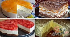 22 nejlepších receptů na pečené a nepečené dorty | NejRecept.cz Czech Recipes, Ethnic Recipes, Polish Recipes, Graham Crackers, No Bake Desserts, Oreo Cheesecake, Deserts, Food And Drink, Cooking Recipes