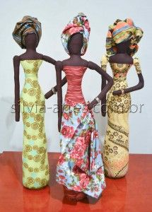 Bonecas Africanas