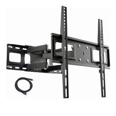 Wall TV Accessories Organizer Stand TV Top Monitor Storage Rack//Shelving Black TV Screen Top Shelf Bracket 12.9 inch Wide Large Size