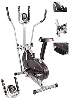 NEW 2 in 1 Elliptical Cross Trainer and Exercise Bike With Seat Cardio (With Middle Bar) 53% of