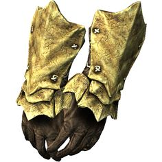 chitin gauntlets from skyrim