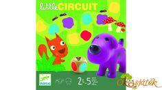 +2  Little circuit társasjáték két éves kortól - DJ8550 Djeco (BO)