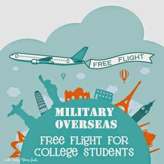 Today I share with youinformation about Military Overseas Free Flights for College Students to visit! If you are stationed at an OCONUS assignment (Overseas including Alaska & Hawaii) then this perk applies to you! It's also know an Student Dependent Transportation, Student Dependent Travel, or Dependent Student Travel, because apparently one name would be too [...]