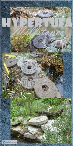 Hypertufa Millstones - my most ambitious project to date... Garden Art | Rustic Crafts