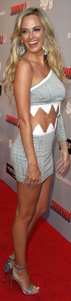 Jena Sims - 'Sharknado 3 Oh Hell No' Premiere In Los Angeles 7-22-2015