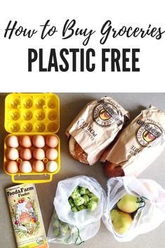 Buying in bulk and eliminating plastic packaging can seem intimidating at first. But with some simple changes, you will be an expert in no time! You grocery cart will be practically naked without all that plastic!