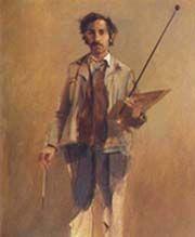El pintor pintado | banrepcultural.org