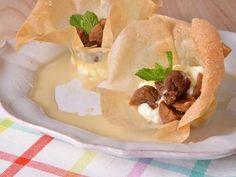Receta   Tartaletas de higo y mascarpone - canalcocina.es