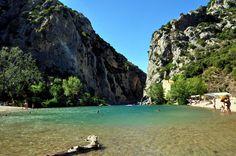 Photo des gorges des Gouleyrous...