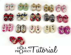 Altered Vinyl Shoes for Tiny Dolls PDF Tutorial How by DollProject, $10.00