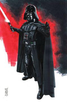 Vader by Hodges-Art on DeviantArt