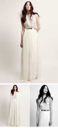 Kaviar Gauche – Brautkleider Kollektion 2014 Petite Fleur