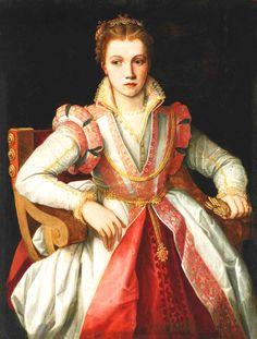 Portrait of a Lady,Francesco Salviati del Rossi, 16th Century