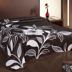 Just turn over and have a different design. This bedspread can be a stylish addition to your bedroom and also doubles up as an extra layer during the cold winter months. Bed Spreads, Bedding Sets, Comforters, Home And Garden, Blanket, Luxury, Bedroom, Furniture, Beautiful
