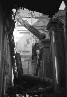 April-May 1944 – British American bombardments in Bucharest – dead, wounded, left without homes(source). August 1944 – Nazi bombardments in Bucharest R… British American, Bucharest, Rare Photos, Romania, Past, Architecture, World, Aesthetics, Collage