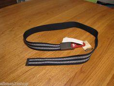 Mens Quiksilver adjustable belt one size surf skate brand NEW lock jaw navy logo