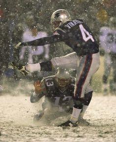 Snow Bowl 10th Anniversary: Patriots vs. Raiders, Jan. 19, 2002