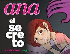 Abuso Sexual Infantil Nunca Más. : EL WEB COMIC DE ANA