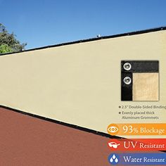 6' x 50' 3rd Gen Tan Beige Fence Privacy Screen Windscree... https://www.amazon.com/dp/B00IJPQ0J8/ref=cm_sw_r_pi_dp_x_Tgi6xbC4TEDCY