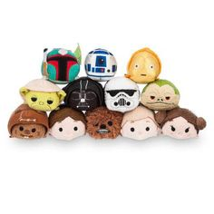 ToyzMag.com » Tsum-Tsum Star Wars : bientôt chez Disney Store !