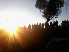 Sunrise di Dataran Tinggi Dieng ( Sikunir Golden Sunrise )