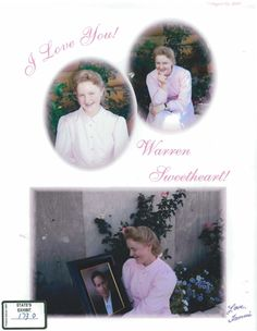 "FLDS Photoshop: Tammara Allred sends a note to ""husband"", Warren Jeffs, who was currently on the run. Tammara was ""married"" at the age of 14. Right now, my brain doesn't know whether to  cry or vomit!"