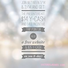 Amazing perks to becoming a presenter right now!!!  $99 to start a BUSINESS!!  Www.victorylashes.com #mascara #younique #lashes