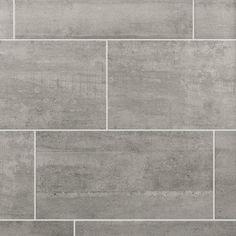 Shop our wide selection of ceramic tile, ceramic floor tile and ceramic tile for cheap at Floor & Decor. Ceramic Tile Bathrooms, Grey Bathroom Tiles, Grey Floor Tiles, Ceramic Floor Tiles, Grey Flooring, Bathroom Flooring, Kitchen Flooring, Flooring Ideas, Tile Flooring