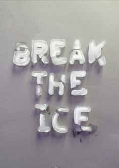 Baby it's cold outside...tomorrow's theme is frosty fonts. Post your shivery submissions from noon via @DesignMuseum