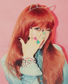 Park Hye Min Park Hye Min, Pony Makeup, Uzzlang Girl, Art Reference Poses, Makeup Trends, Redheads, Ulzzang, Korean Fashion, Girl Fashion