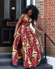 African fashion more african print dresses, modern african dresses, african African Prom Dresses, African Fashion Dresses, African Attire, African Wear, African Women, African Dress, African Fashion Designers, African Inspired Fashion, African Print Fashion