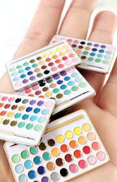Live a Creative Life Palette Enamel Pin